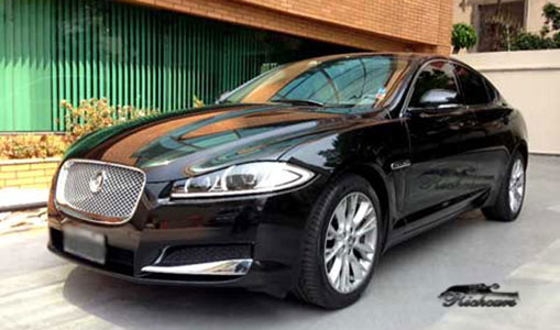 aluguel de carros para casamento: jaguar xf   aluguel de carros de luxo